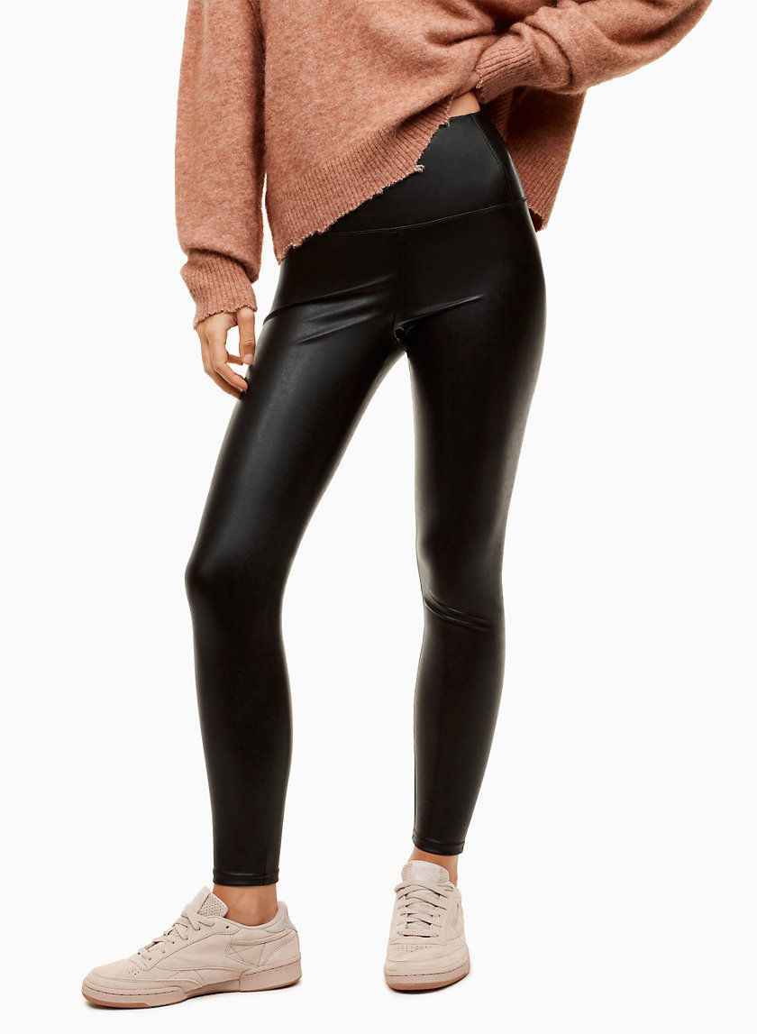 Wilfred Free Daria Pant Ankle Aritzia Womens Dress Pants Vegan Leather Leggings Pants For Women
