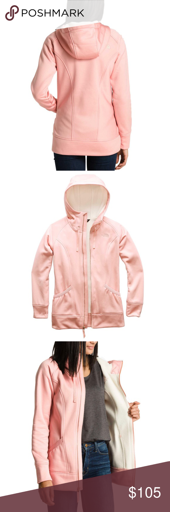 The North Face Cozy Cream Sherpa Jacket North Face Jacket Clothes Design Fashion [ 1740 x 580 Pixel ]