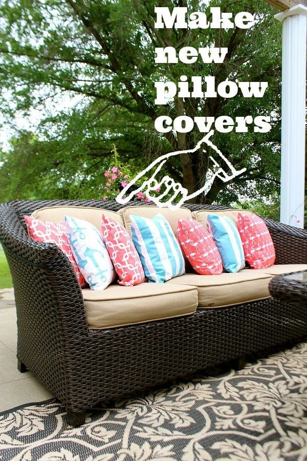 do cushions easy pillow serial outdoor how confessions cushion covers a to cover coverspart sew of part