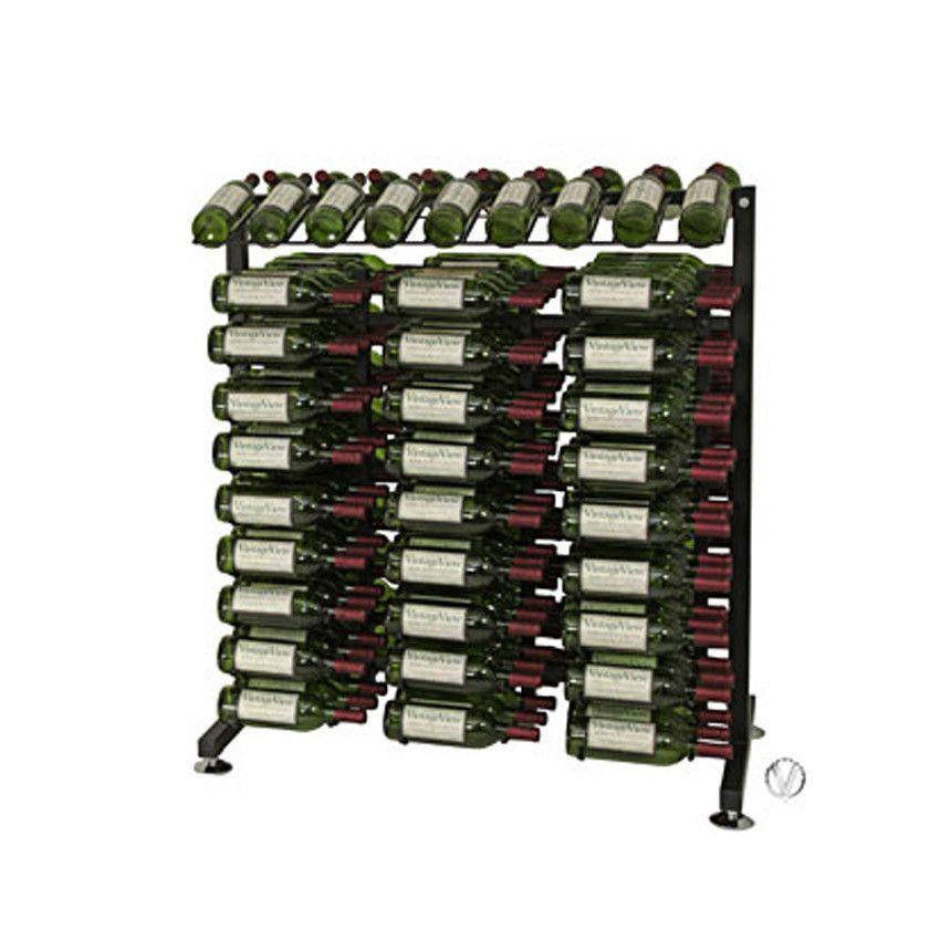 180 Bottle 3′ Island Display Rack