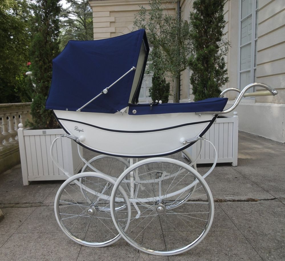 vintage coach built pram landau anglais silver cross royale baby carriages pinterest. Black Bedroom Furniture Sets. Home Design Ideas