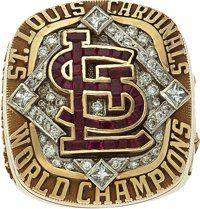 2006 St. Louis Cardinals World Championship Ring