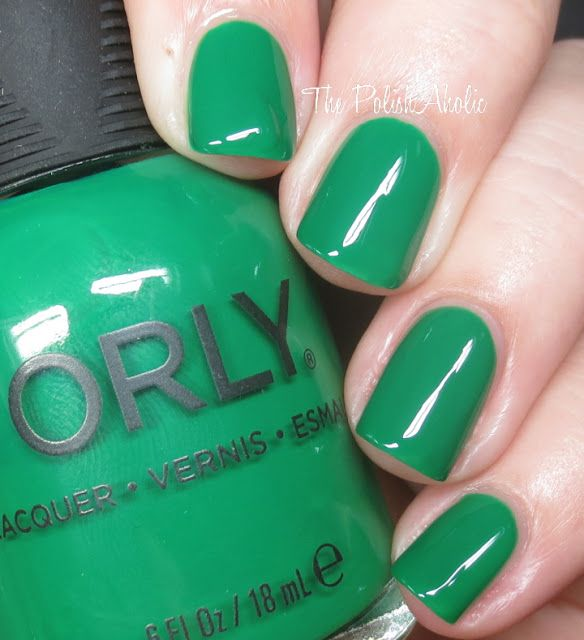 Invite Only is a grassy green creme. The PolishAholic: Orly Holiday ...