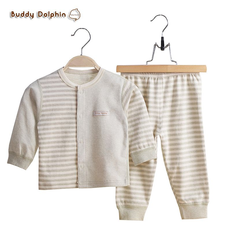 Baby Clothing Sets 2017 Spring Autumn Organic Cotton Long Sleeve