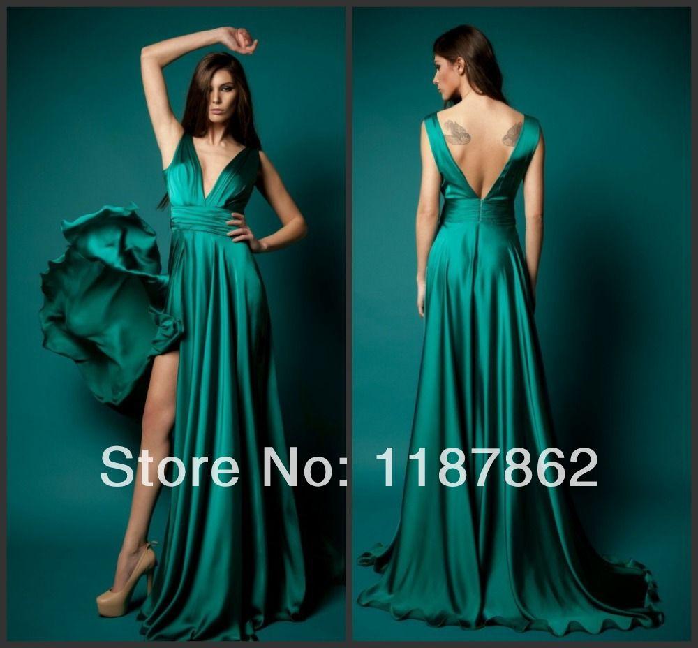 Long Emerald Dress