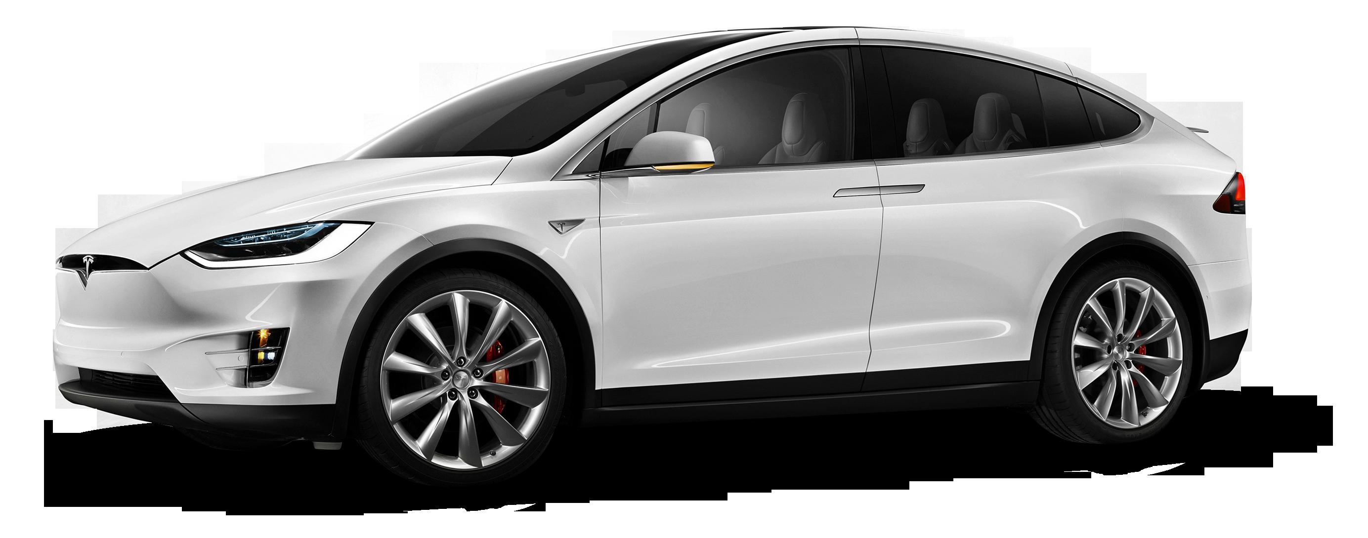 Tesla Model X White Car Png Image Tesla Model X Tesla Model White Car