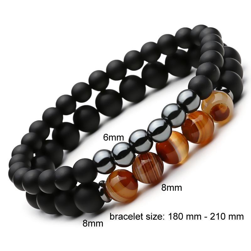 Mens Bracelet for men Tiger eye bracelet Beaded Bracelet Balance Bracelet Natural stone bracelet Adjustable bracelet Protection bracelet