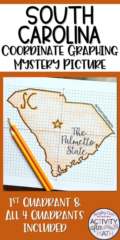 South Carolina Map Outline Printable State Shape Stencil Pattern South Carolina Silhouette Design Carolina
