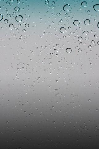 Download The Default Rain Drops Wallpaper From Iphone Os 4 Iphone Wallpaper Ios Apple Wallpaper Cellphone Wallpaper