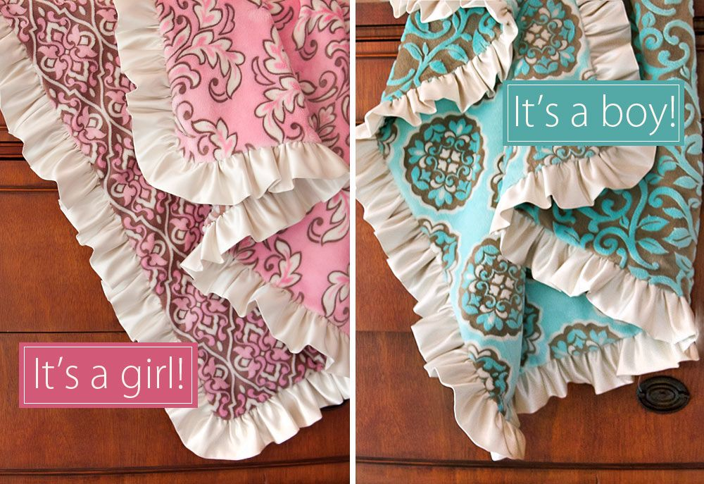Tutorial- Minky and Satin baby blankets