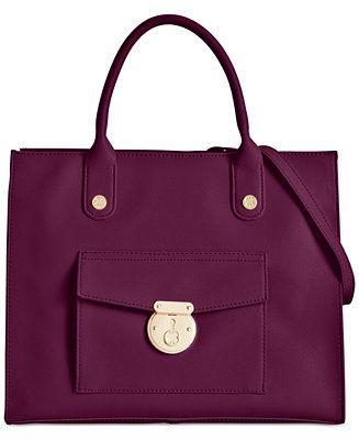 205cc370d2 Emma Fox Delmar Leather Tote - Tote Bags - Handbags & Accessories - Macy's