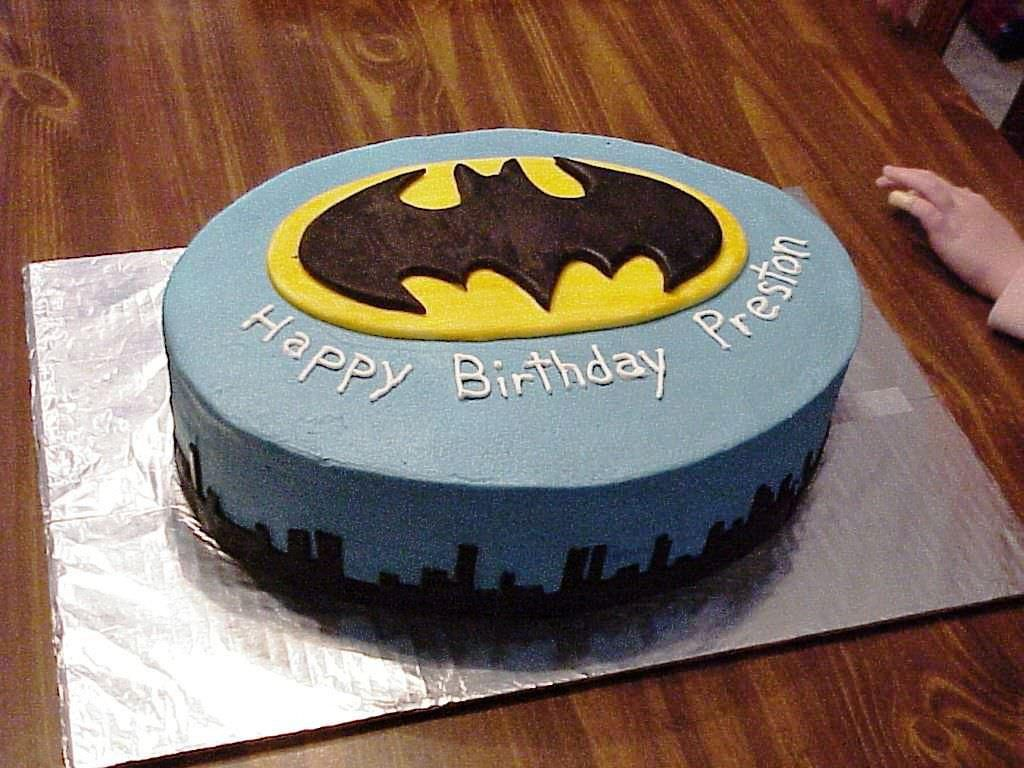 Batman Birthday Cake Coolest And Simple Decorations