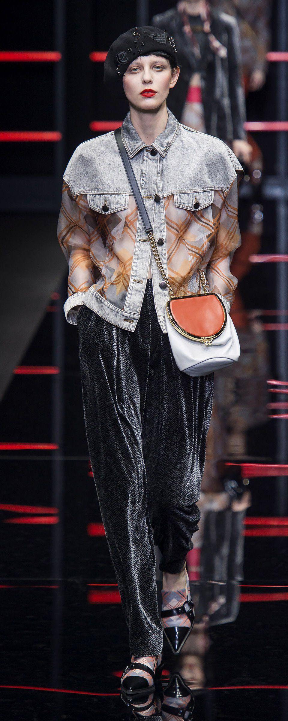 Wear Emporio Nel2010 To Ready 2020 Winter Fall 2019 Armani dtChQsr