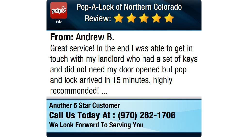Great service! In the end I was able to get in touch with my landlord who had a set of...