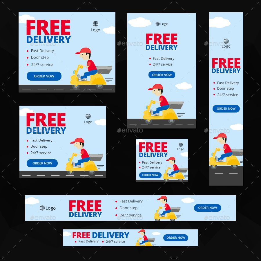 Food Delivery Service Banners Food Delivery Service Ideas Of