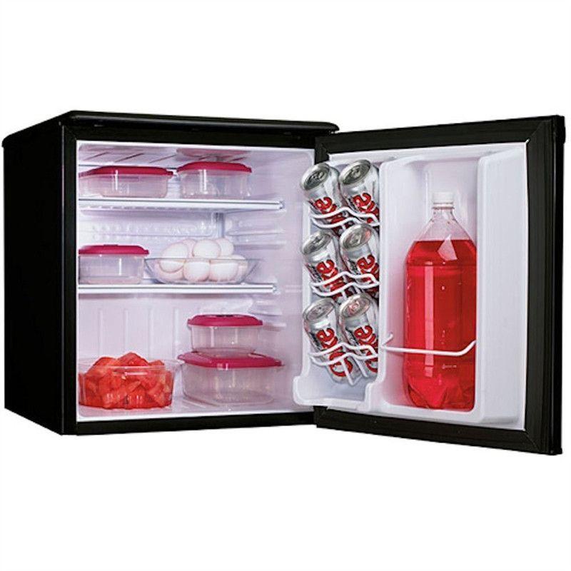 Danby 1 8 Cu Ft Mini Fridge All Refrigerator In Black