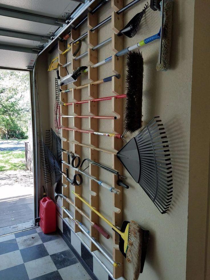Photo of Garden Tool Rack #Garageworkshop #Garden #Rack #Tool #Garage –