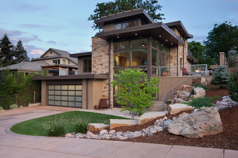 Fabulous country homes exterior design home design for Modern country home exterior
