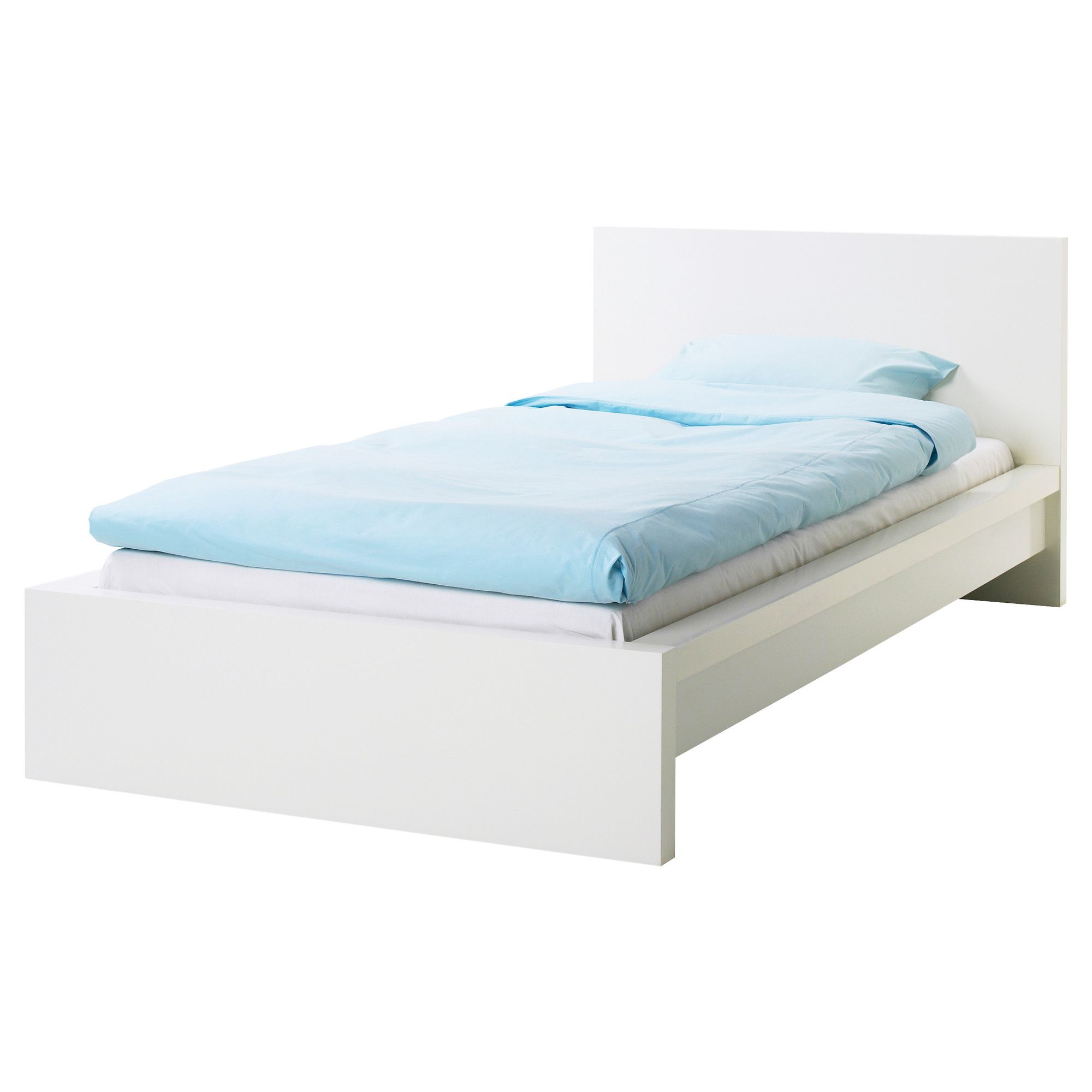 MALM Bed frame whiteLury IKEA Annabelles Bedroom