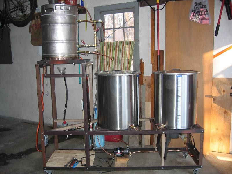 great diy brewing setup - Home Brewery Design