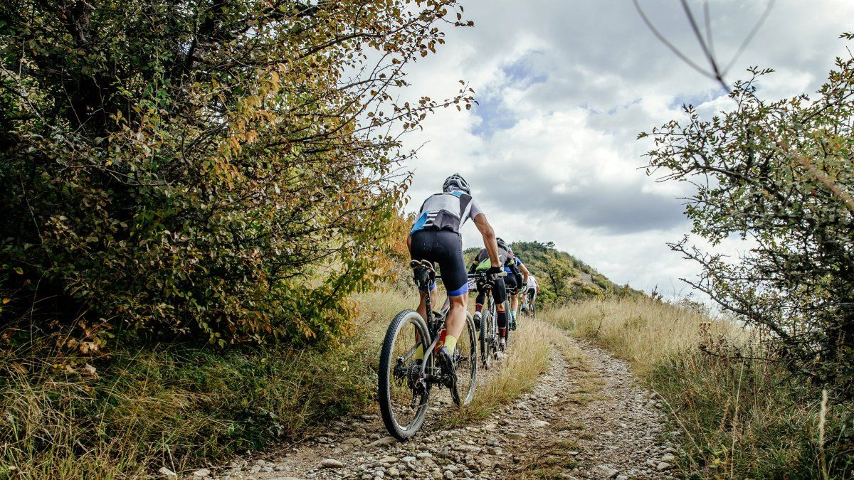 You Re Faster With Friends Even Uphill Mountain Biking Gear