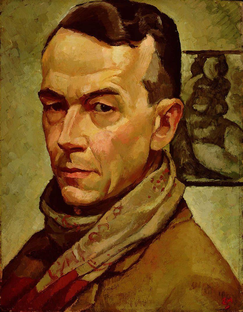 HOLGATE, Edwin, Canadian artist (1892-1977): - 'self-portrait'