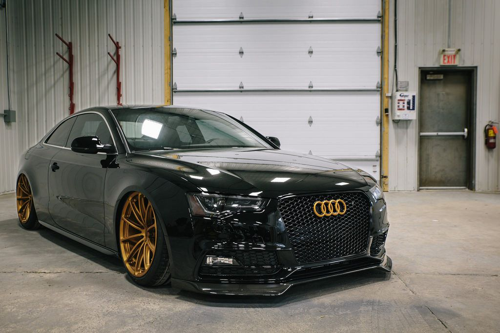 prostate cancer canada 39 s bagged audi s5 coupe on forgeline one piece forged monoblock gt1 5 lug. Black Bedroom Furniture Sets. Home Design Ideas