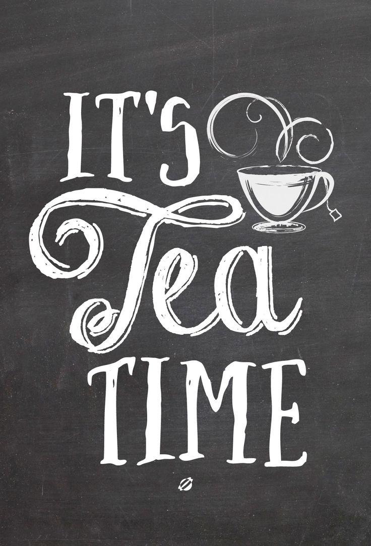 Tee, der glücklich macht.