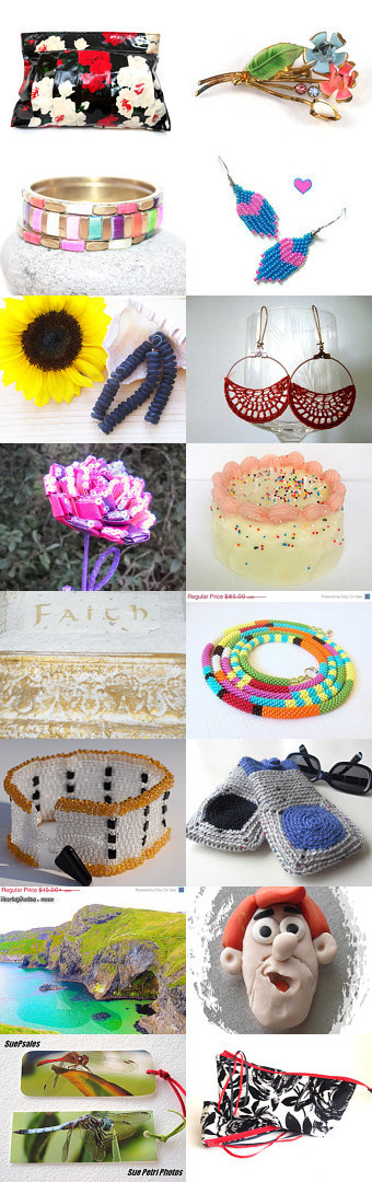 Color time 10% Off All Featured Shops by G.S.S Beauty Crochet Baby Boutique by Jesseka on Etsy--Pinned with TreasuryPin.com