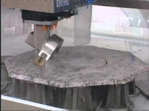 Qualey Granite Cnc Machine Video 2 Youtube Cnc Machine Granite Machine Video