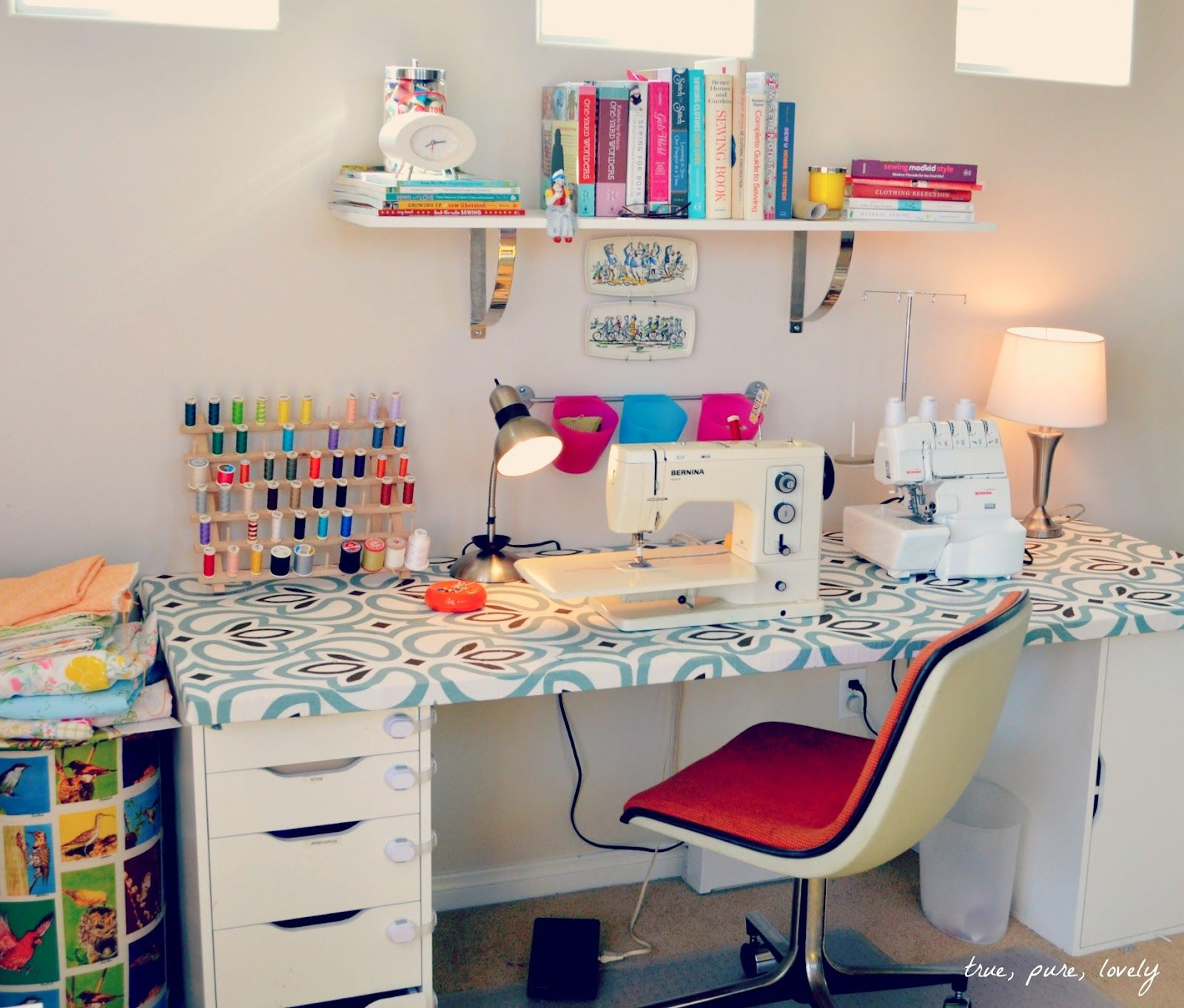 sewing-room ideas
