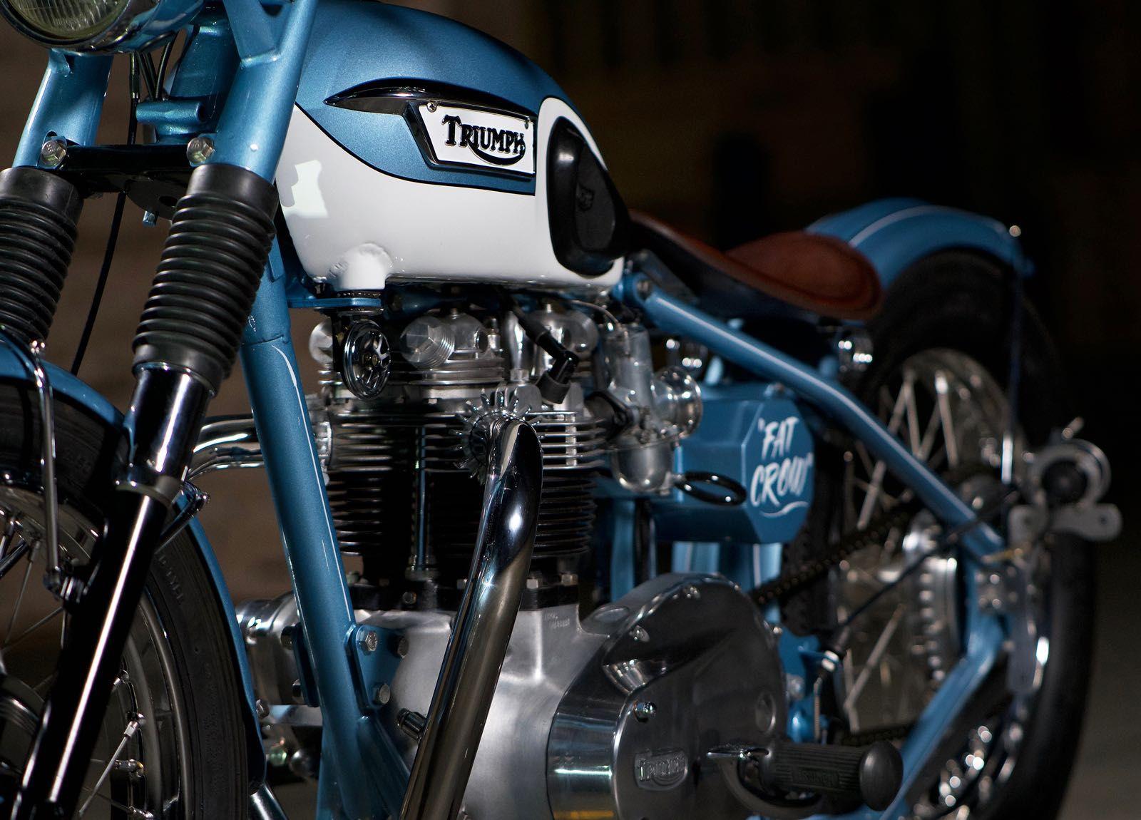 Pin on Triumph bobber