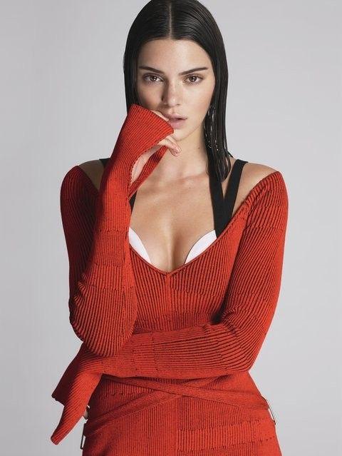 """Kendall Jenner na """"Vogue"""" americanaEfeito Cabelo Molhado em alta! Faça igual com a Pomada Modeladora Avon!"""