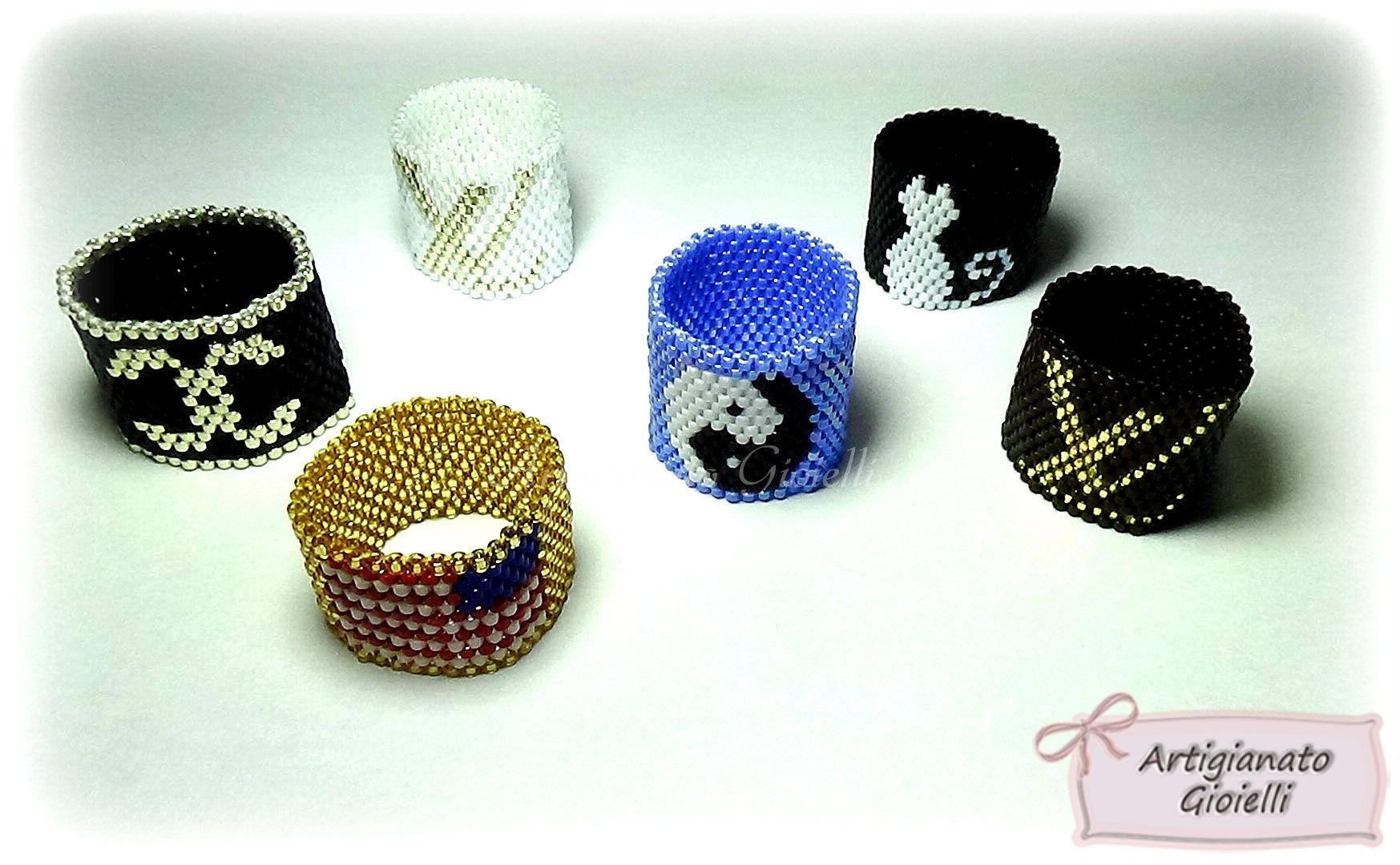 rings beaded weekend projects for trinity the beading heart