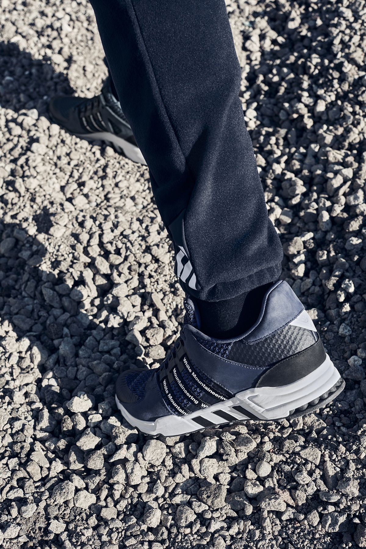 White Sneakers: Mountaineering x adidas EQT Running 93 Sneakers: White adidas x 422c9d