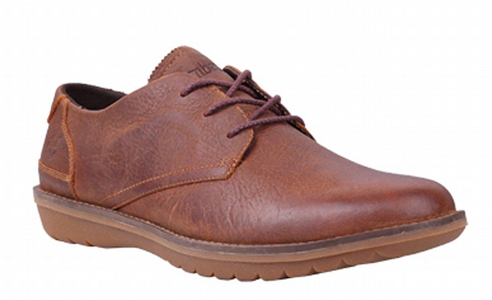 Timberland 9602A Mens Earthkeepers Front Country Travel Lace Up Shoe - Red  Brown - Robin Elt