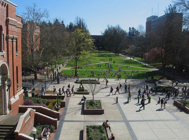 The Quad University Of Oregon University Of Oregon Oregon Northwest College