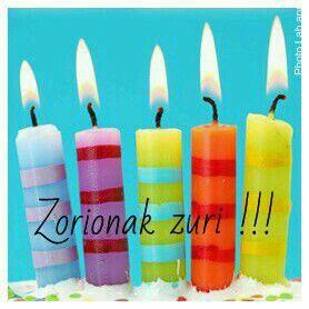 Resultado de imagen de zorionak zuri