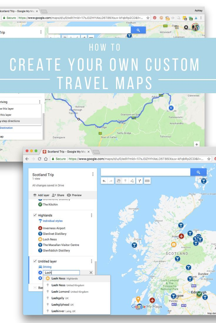 How to Build Customized Travel Maps for Your Next Trip | We ... Make Your Own Road Trip Map on make your own disney world map, make your own pirate treasure map, chicken road map, art road map, make your own school map, recipe road map, healthy road map, vintage road map, graduation road map, photography road map, your own driving route map, diy road map, lego road map, make your own weather map, make your own route map, christmas road map, make your own walking map, make your own snow map, travel road map, organic road map,