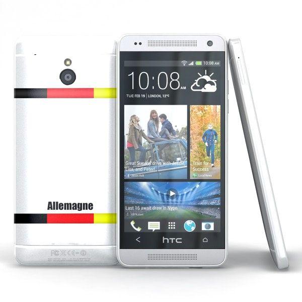 Coque HTC ONE Mini M4 Allemagne. #Coque #M4 #HTC #Mini #fun #Case #one #drapeau #allemagne