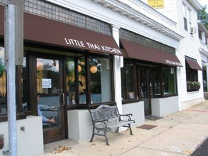 The Little Thai Place Below My Apartment When I Lived In Darien