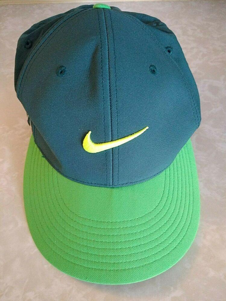 Interminable Patético observación  Nike Vapor RZN Flexfit Golf Hat Size M/L Green #NikeGolf | Flex fit hats,  Golf hats, Nike cap