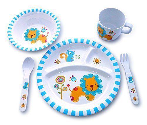 Culina Kids Melamine Dinnerware Lion Set Of 5 Http Www Amazon Com Dp B017i2bc2w Ref Cm Sw R Pi Awdm X Zidaybn1kf0j0