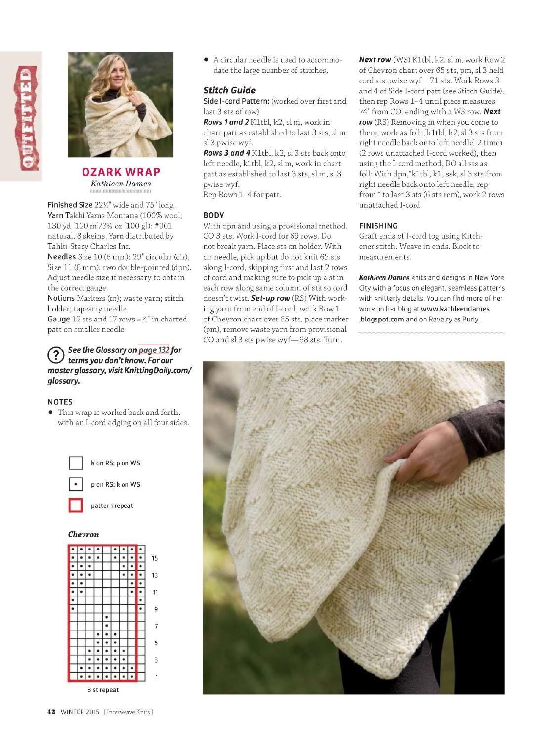 ISSUU - Interweave knits 2015 winter by Tatiana Sorokina