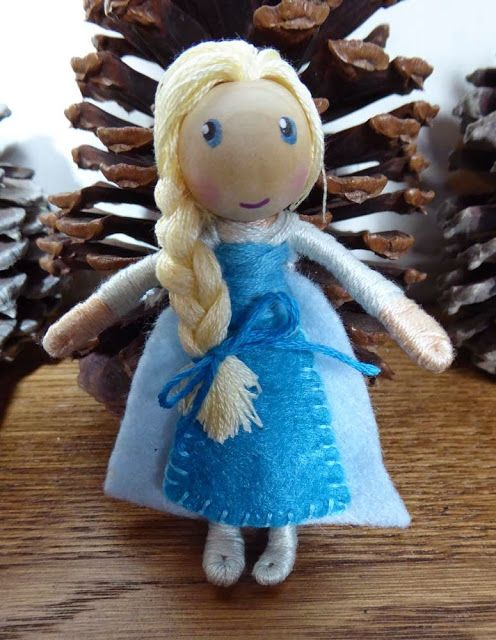 The Enchanted Tree: Maleficent and Elsa themed bendy doll and new ...