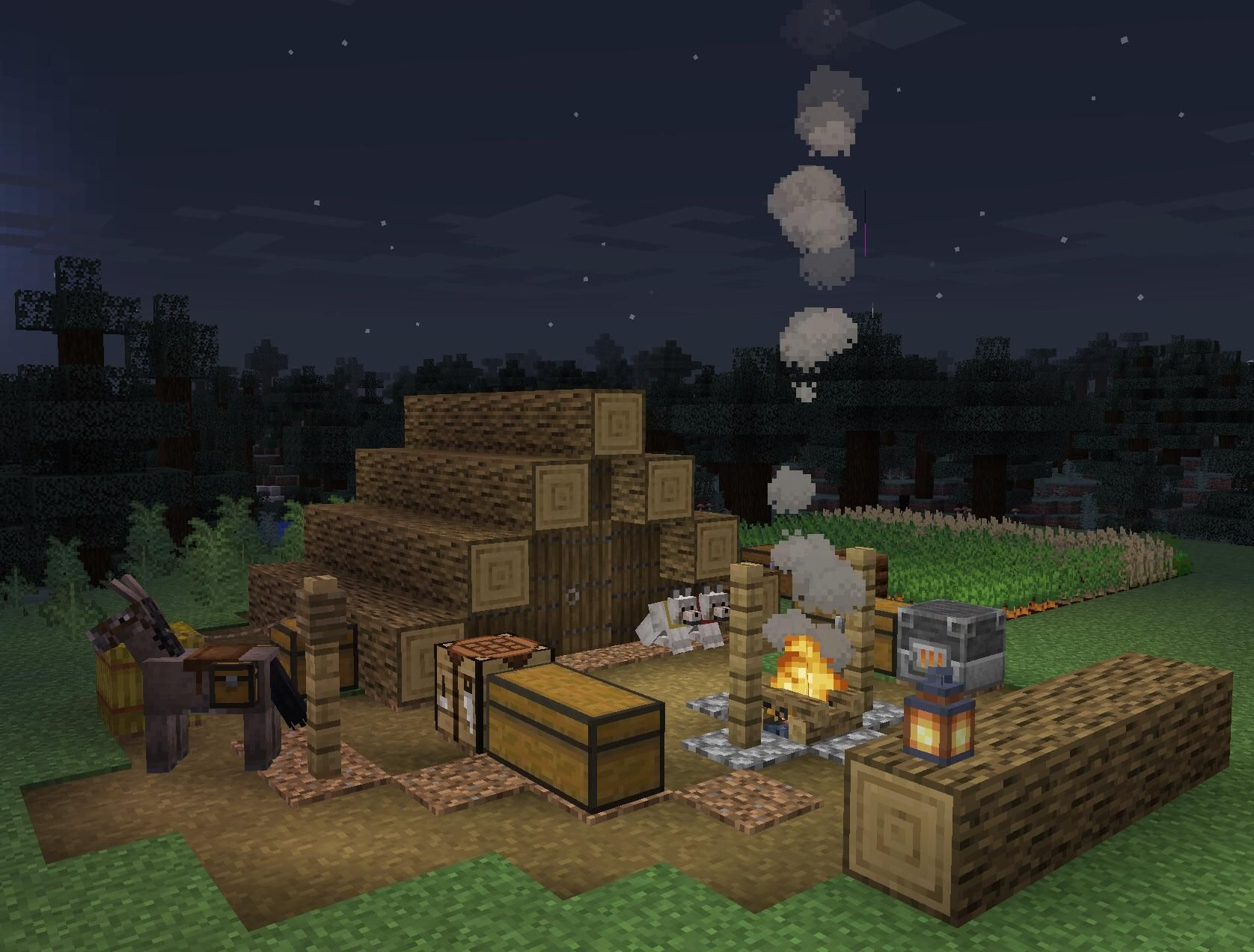 Starting a Fresh 1.14 survival world. It's moments like