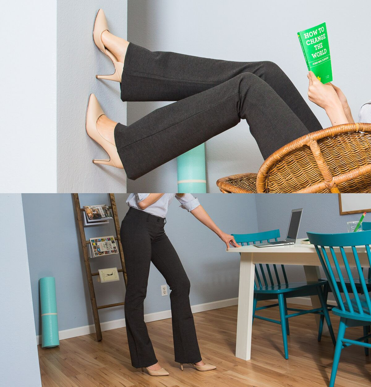 Dress Pant Yoga Pants: Quite Simply The Most Comfy Pair Of