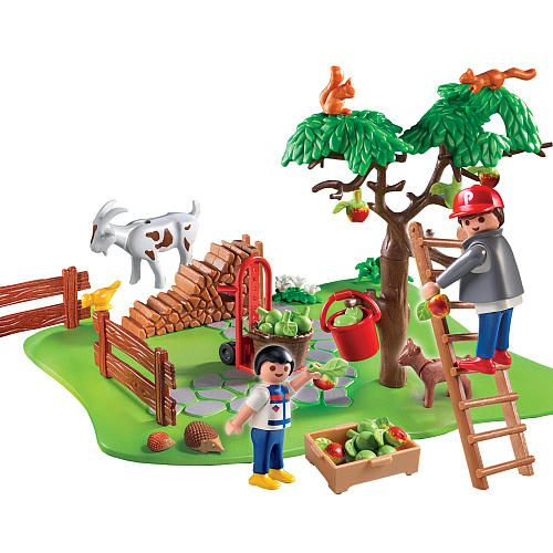 Playmobil Apple Harvest Compact Set  - Playmobil -  Play Sets & Figures - FAO Schwarz®
