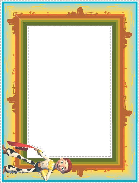 Toy Story Photo Frames 3 | Toy Story Printables | Pinterest | Toy ...