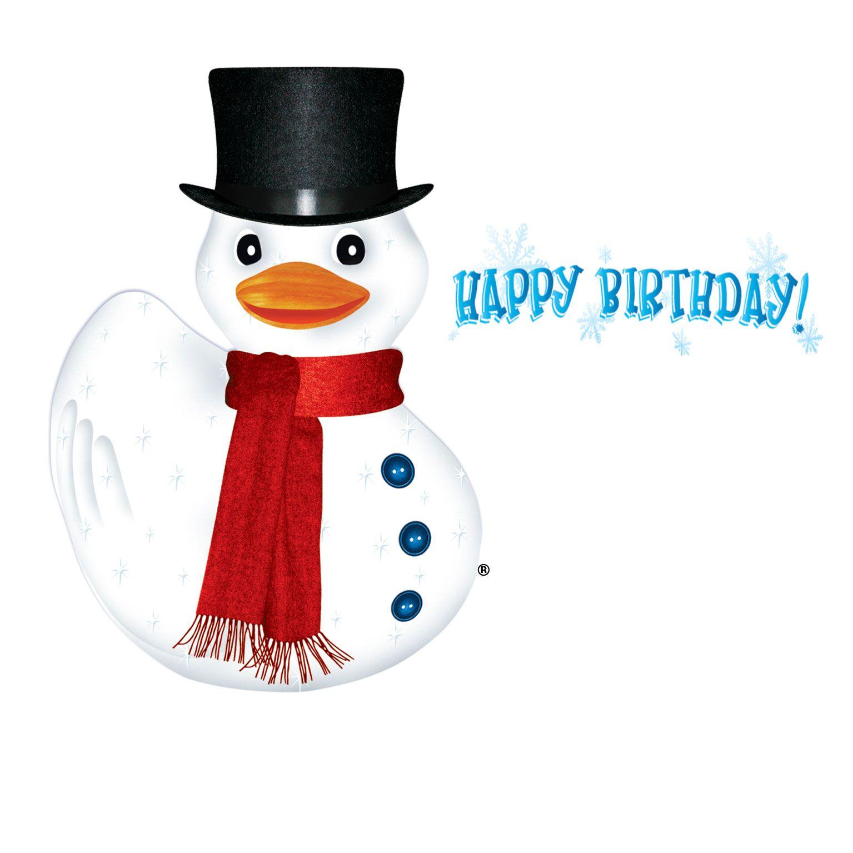Duckfrost Birthday Greeting Card - Inside